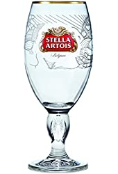 Boelter Brands Stella Artois Buy a Lady a Drink Limited Edition Kenya Chalice, 33cl, Clear
