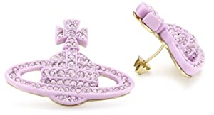 Vivienne Westwood Pop Bas Relief Stud Earrings