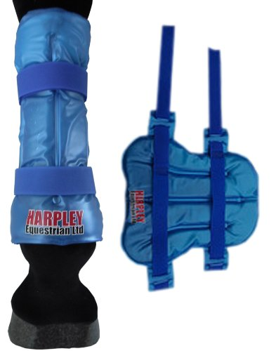2-in-1 Hot/Cold Horse Leg Wrap For Acute & Chronic Injuries - Reduces swelling, inflammation, muscle spasm, pain as well as relaxing/soothing old injuries before exercise