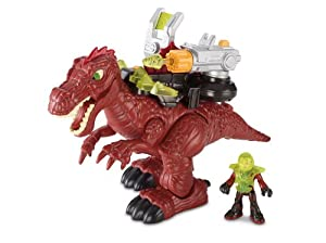 Amazon.com: Fisher-Price Imaginext Motorized Spinosaurus