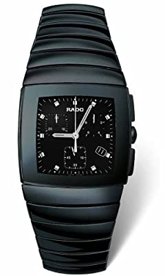Rado Men's R13477152 Sintra Ceramic Chronograph Watch