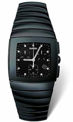 Rado Men's R13477152 Sintra Ceramic Chronograph Watch from Rado