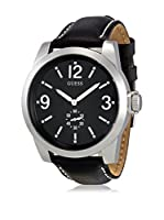 Guess Reloj de cuarzo Man W10248G1 Plateado / Negro 45 mm
