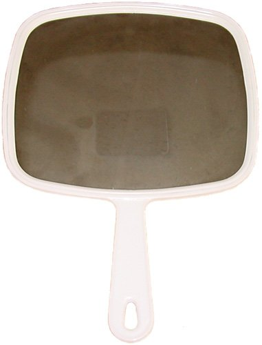 Mirror * Hand * Large * White front-61941