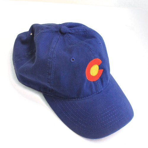 colorado state flag low profile baseball hat coloradan