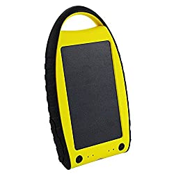 Solar Powered Charger for Cell Phones and Electronics - High Efficiency Solar Panel - The SPC7k Portable Solar Battery Charger - Faster Solar Charging - Lighweight -Dual USB - Carabiner - Get Yours Today.