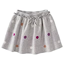 Oshkosh Infant/Toddler Girls Sweater Skirt Polka Dots (24Mos)