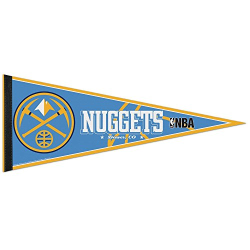 """Denver Nuggets Official Nba 29"""" Pennant By Wincraft front-261090"""