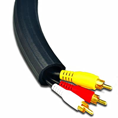 UT Wire UTW-FCW8-BK Expandable Flexi Cable Wrap