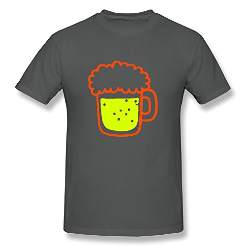 Designed Beer Witty Round Neck Boy Tees front-709737