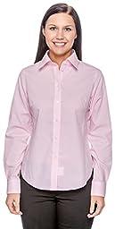 Chestnut Hill Ladies Executive Performance Broadcloth Shirt - Fresh Pink Stripe CH600W S