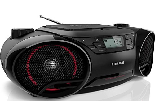 philips az3811 soundmachine portable boombox mp3 cd player am fm radio stereo speaker system. Black Bedroom Furniture Sets. Home Design Ideas