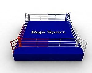 Boxring AIBA 7,5 x 7,5 m (Innenmaß 6,5 x 6,5 m, Höhe ca. 0,9 bis 1,0 m)