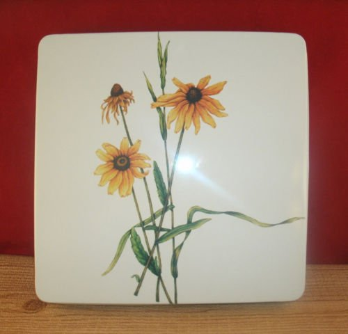 Sunflower Garden Square Gas Burner Covers (Gas Stove Square Burner Covers compare prices)