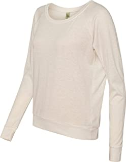 Alternative Ladies Junior Fit Eco Jersey Slouchy T-Shirt 1990E1 Eco Ivory S