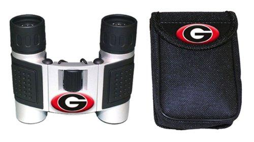 Ncaa Georgia Bulldogs High Powered Compact Binoculars With Case