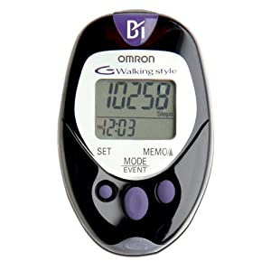 Omron HJ-720ITC Pocket Pedometer with Advanced Omron Health Management Software