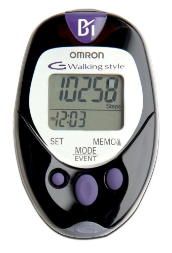 Omron HJ-720ITFFP Pocket Pedometer with Advanced Omron Health Management Software