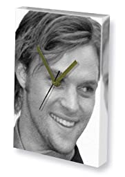JESSE SPENCER - Canvas Clock (LARGE A3 - Signed by the Artist) #js002