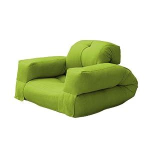 Fresh Futon Hippo Convertible Futon Chair Bed Mattress Lime