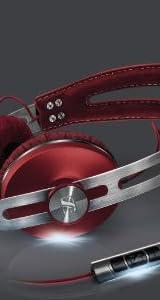 【国内正規品】ゼンハイザー MOMENTUM 密閉型オンイヤーヘッドホン レッド MOMENTUM On-Ear Red