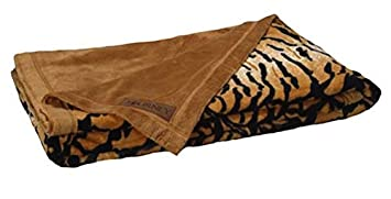 Epic  for price cut and beneficial rating pertaining to best price available for sale Scene Weaver Journey Animal Print Tiger Faux Fur Throw Blanket Afghan