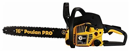 "Poulan Pro Classic 16"" Gas Chain Saw PP3816AV Carry Case CARB Certified at Sears.com"