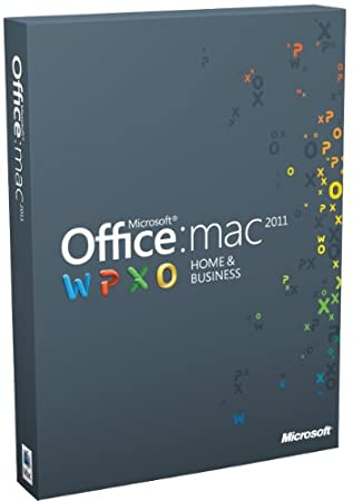 Office for Mac Home and Business Multi-Pack Edition 2011 (Mac)