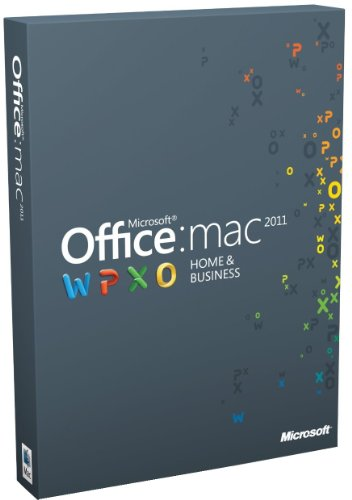 Office for Mac 2011 Home & Business - 2 Licenses - 1 user