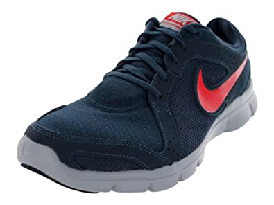 Nike Men's Flex Experience Rn 2 Armory Navy/Chllng Red/Wlf Gry Running Shoe 7.5 Men US