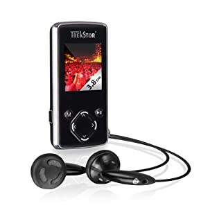 Trekstor i.Beat move S 2.0 MP3 Player 8 GB schwarz-silber