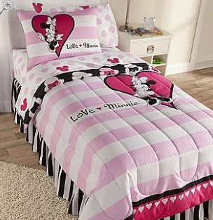 Minnie mouse bedding minnie mouse bedding - Mini mouse bedroom ...