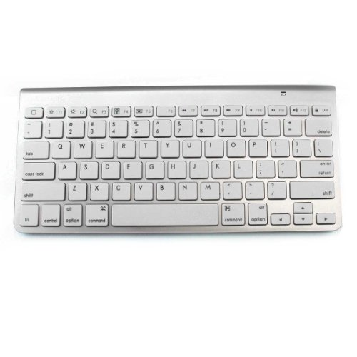 Lb1 High Performance New Wireless Keyboard For Apple Imac Me088Ll/A 27-Inch Desktop Ultra-Slim Portable Bluetooth Keyboard (Silver)