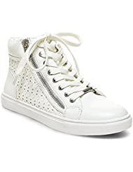 Steve Madden Women's Eiris White Sneakers - 7 UK/India (39.5 EU) (9 US)