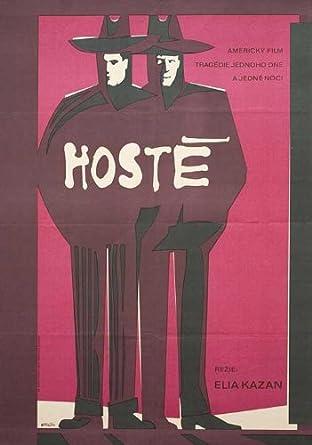 The Visitors 1975 Original Czech Republic A1 Movie Poster Elia Kazan Patrick McVey