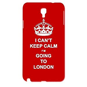Skin4gadgets I CAN'T KEEP CALM I'm GOING TO LONDON - Colour - Red Phone Designer CASE for SAMSUNG GALAXY NOTE 3 NEO (SM-N7505,N750)