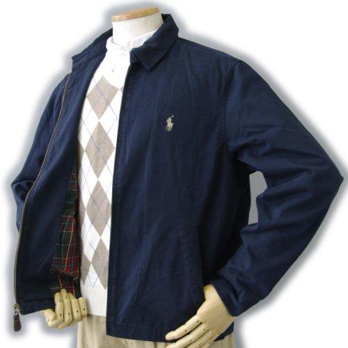 (ポロ ラルフローレン)POLO Ralph Lauren メンズ ジャケット スウィングトップジャケット M ネイビー[並行輸入品]