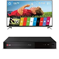 LG Electronics 50LB6300 50-Inch 1080p 120Hz Smart LED TV with BP340 Blu-Ray Disc Player