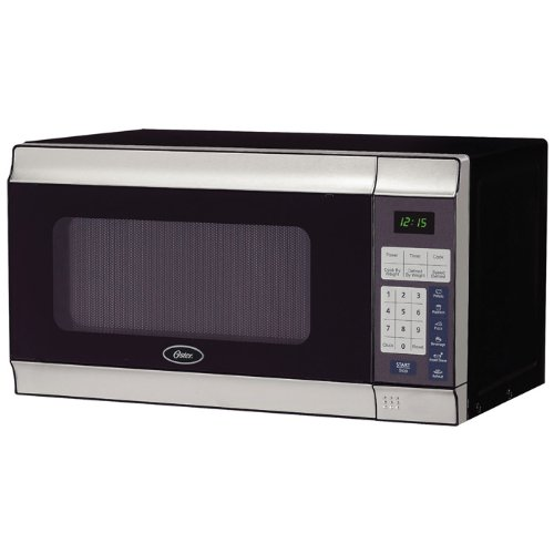 Brand New, Oster - #0.7 Cu.Ft. 700W Digital Microwave Oven Stainless Steel (Appliances - Microwave Ovens)