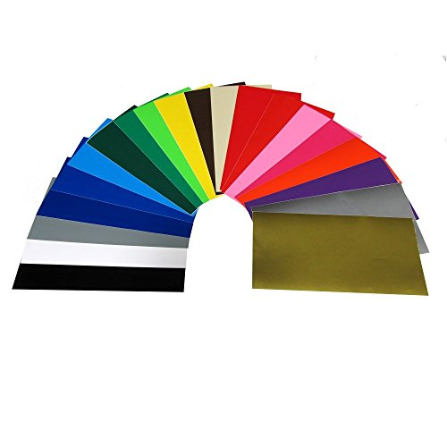 craft-e-vinyl-12-x-12-40-sheets-assorted-glossy-colors-of-permanent-adhesive-backed-vinyl-for-cricut