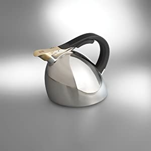 Nambe Chirp Kettle, Stainless Steel