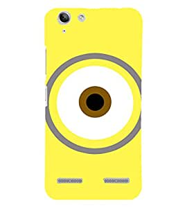 EPICCASE Eye of the minion Mobile Back Case Cover For Lenovo Vibe K5 Plus (Designer Case)