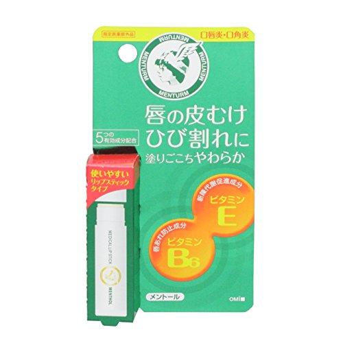 メンターム 薬用メディカルリップスティックM 5.1g 【指定医薬部外品】