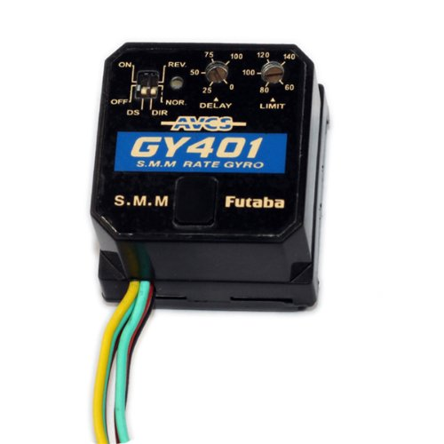 Futaba Gy401 Head Locked Gyro For 400 450 Rc Helicopter front-418064