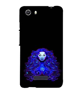 ifasho Designer Phone Back Case Cover Micromax Unite 3 Q372 :: Micromax Q372 Unite 3 ( Army Skull Green Star Symbol )