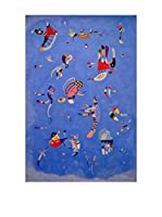 Especial Arte Lienzo Azzurro - Kandisky Vassily Multicolor