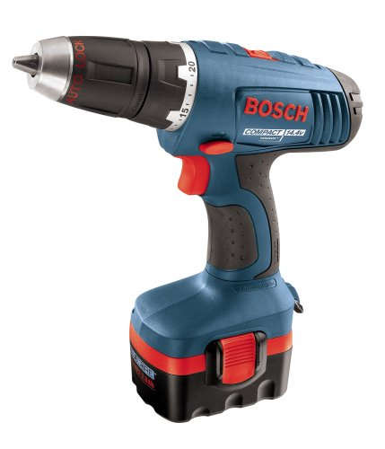 Bosch 34614 14.4-Volt 1/2-Inch Compact Tough Drill/Driver