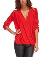 Piper and June Blusa Tally (Rojo)