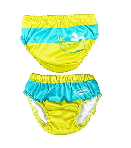 Swimways Lime Swim Diaper - Med