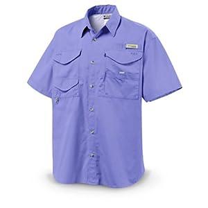 Columbia Men's PFG Bonehead Short Sleeve Shirt - Fairytale L